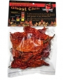 Smoked Dried Ghost Chili Pepper - Organic, Authentic Indian Bhut Jolokia - Whole Pods (1/2 oz) 100% Satisfactions Guarantee