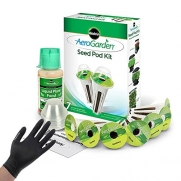 VARIOUS PLANTS MIRACLE-GRO AEROGARDEN HERB SEED POD KIT + LIGHTNING GLOVES - Chili Pepper Seed Kit