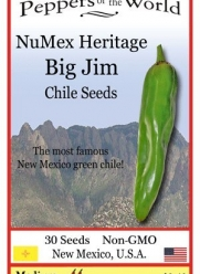 Big Jim Green Chile Seeds - Heritage Variety - 30 Seeds From New Mexico